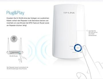 TP-Link TL-WA850RE(DE) WLAN Repeater (Deutsche Version, 300Mbit/s, WPS) weiß - 5
