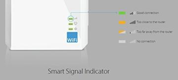 TP-Link TL-WA860RE WLAN-Repeater (300 Mbit/s, integrierter Steckdose, externen Hochleistungs-Antennen, WPS) - 6