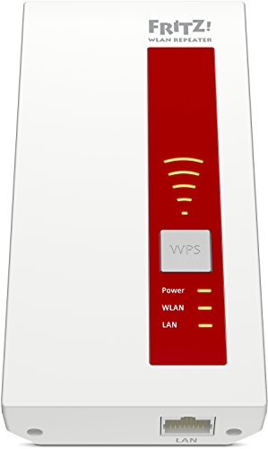 AVM FRITZ!WLAN Repeater 1750E - Dual-WLAN AC + N bis zu 1.300 MBit/s 5 GHz + 450MBit/s 2,4 GHz - 2
