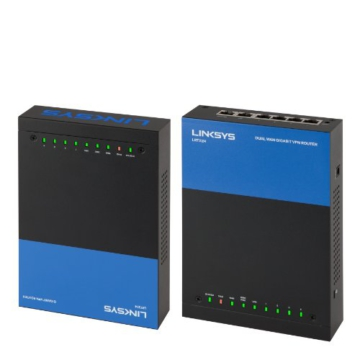 Linksys LRT224-EU Business Gigabit Dual WAN VPN Router - 4