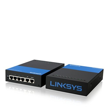 Linksys LRT224-EU Business Gigabit Dual WAN VPN Router - 5
