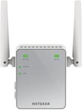 Netgear EX2700-100PES N300 Universal WLAN Range Repeater (300Mbit/s, LAN-Port, WPA) weiß/grau - 1