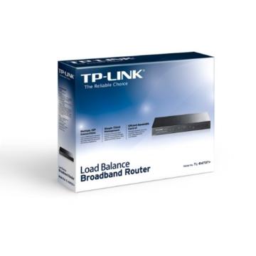 TP-Link TL-R470T+ v3.0 Load Balance Broadband Router (WAN/LAN-Port, 64MB DRAM, 4MB Flash Speicher) - 3