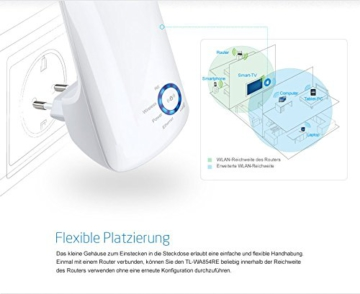 TP-Link TL-WA850RE(DE) WLAN Repeater (Deutsche Version, 300Mbit/s, WPS) weiß - 7