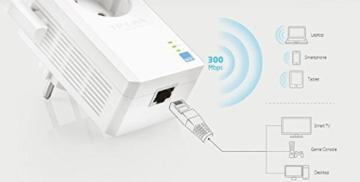TP-Link TL-WA860RE WLAN-Repeater (300 Mbit/s, integrierter Steckdose, externen Hochleistungs-Antennen, WPS) - 4